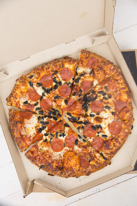 Pizza Hut Flavor of Now Pepperoni with Pretzel Crust