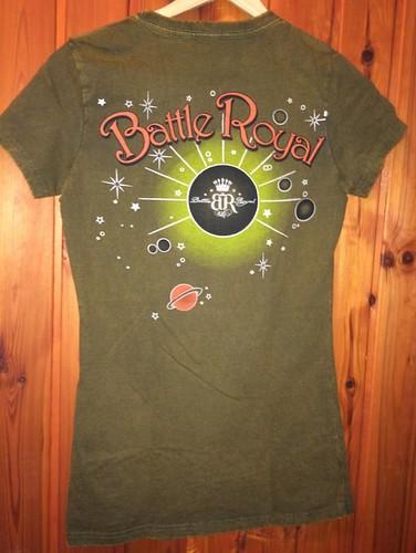 Dámske tričko - Batty Royal kaky