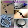 Glass end beads for kumihimo