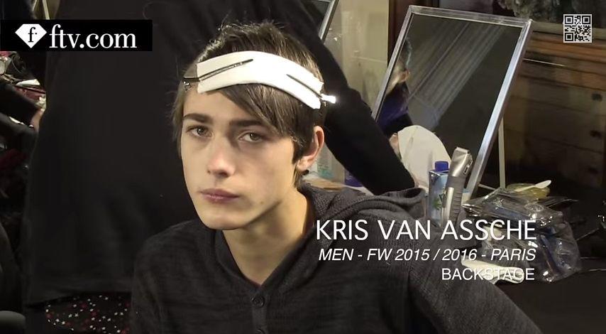 Paul Fontanier3036_FW15 Paris Kris Van Assche(youtube.com)