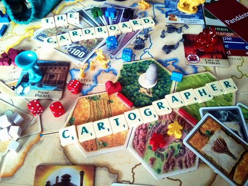 The Cardboard Cartographer banner