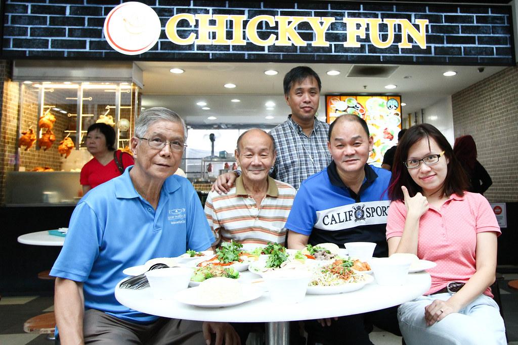 Chicky Fun: Group Photo