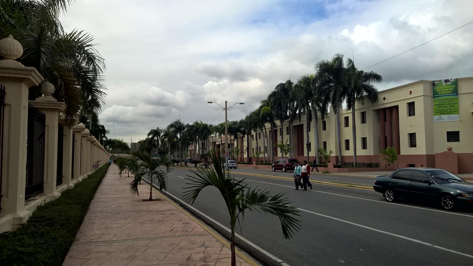 Улицы рядом с Национальным дворцом