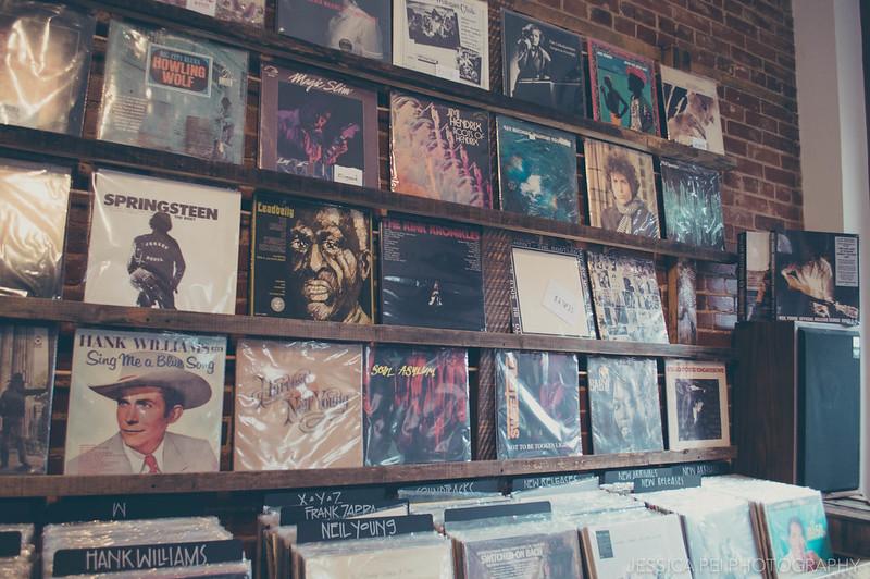 Dead Wax Records Store Cherokee Street St. Louis