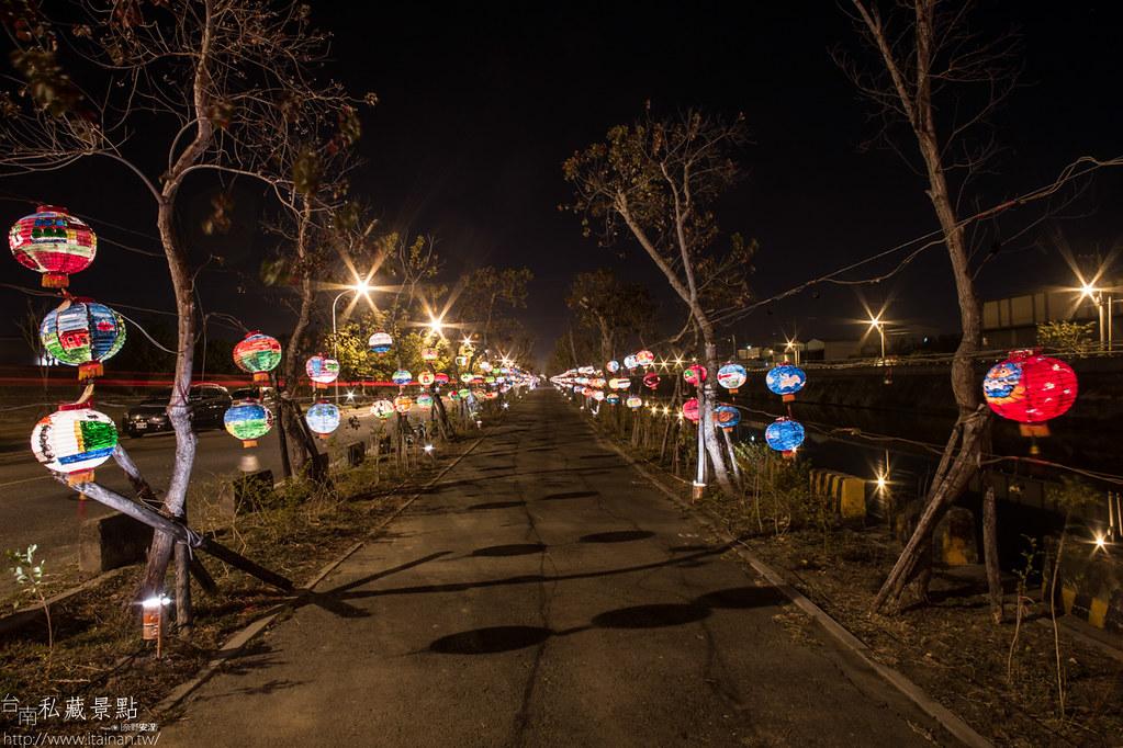 台南私藏景點-點亮台江 2015 山海圳綠道燈會 (4)