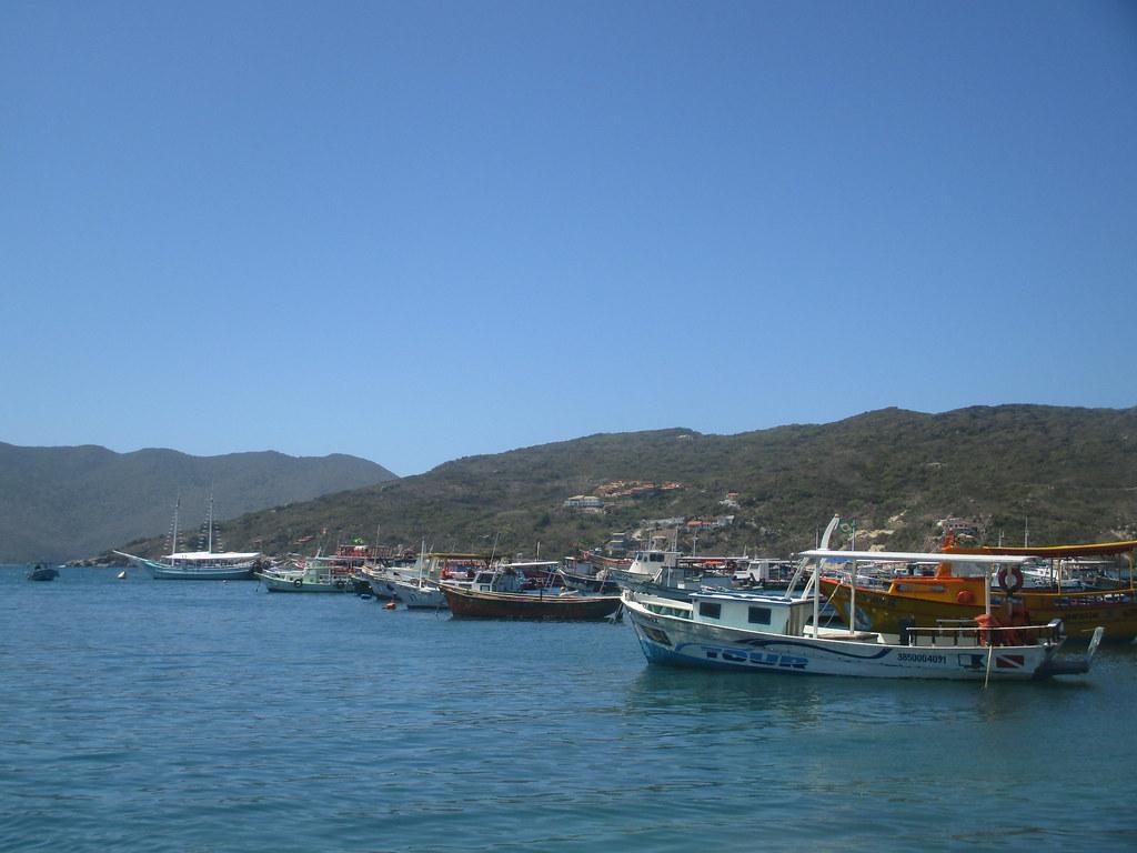Départ de Arraial do Cabo