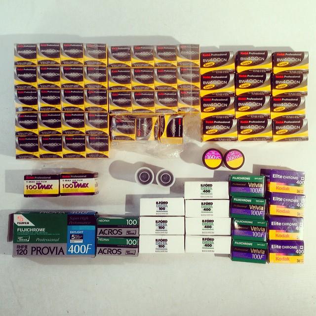 Expired Film - Colour & B&W Gift :)
