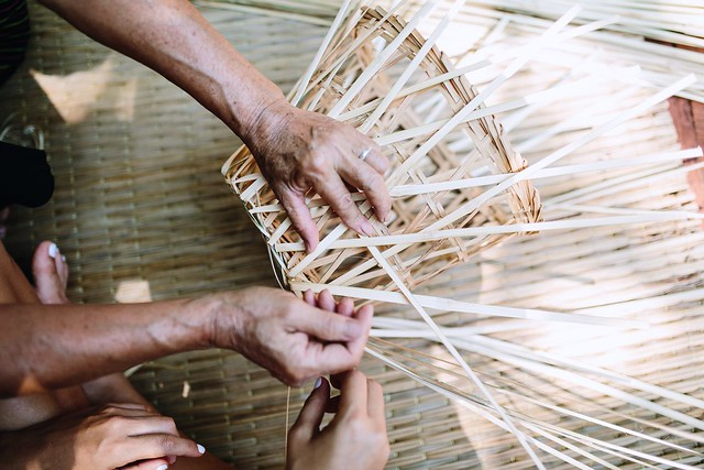 Basket Making in Thailand
