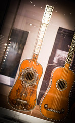 Exquisite musical instruments at the Ashmolean Museum, Oxford