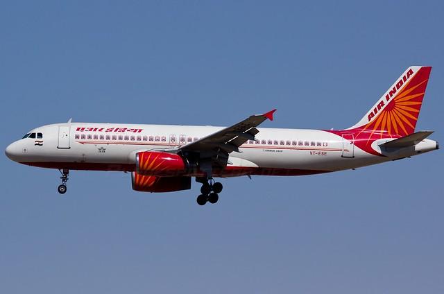 A.320-231 C.n 0431 'VT-ESE' Air India