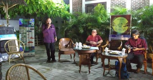 Diskusi Lampung Darurat Ekologi di Kafe Isardas (Raissa, 4 Juni)