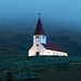 Vik Church, Iceland by mikedemmingsphoto.com
