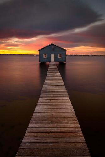 longexposure sky lightpainting water clouds sunrise pier au australia perth wa westernaustralia cpl boatshed crawley crawleyboatshed