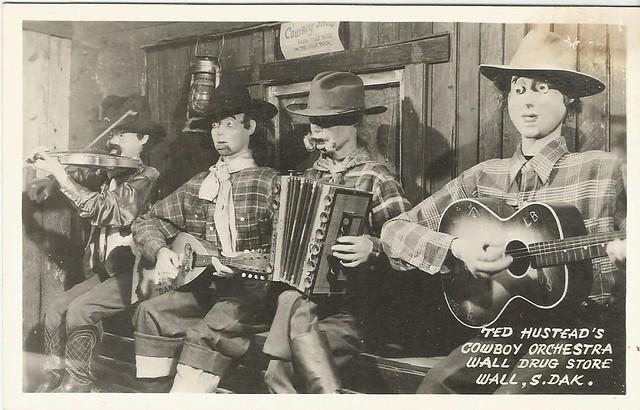 Cowboy Orchestra, Wall Drug, S. D.