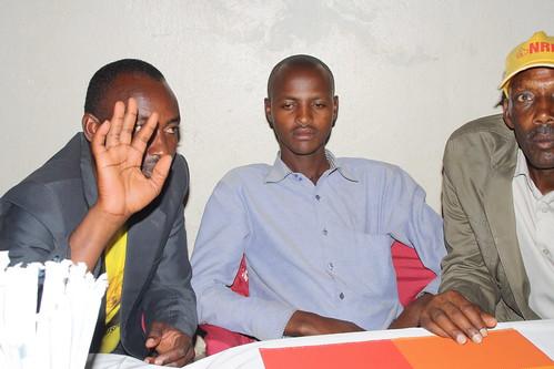 Justus Karuhanga supporters storm statehouse