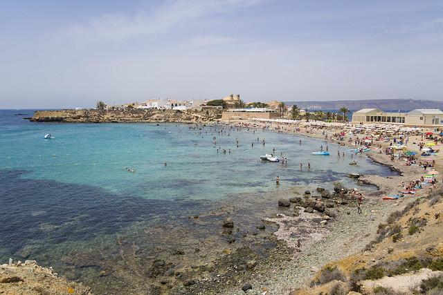Tabarca beach