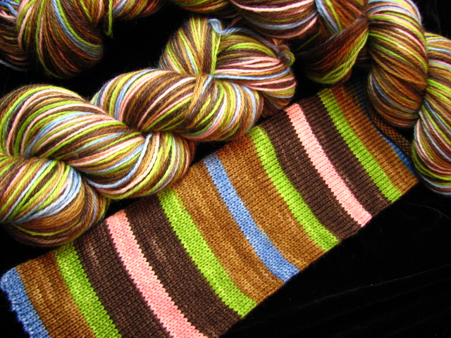 Woodland Wildflowers - Self Patterning Safari Sock Yarn