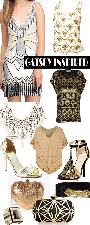 Gatsby Art Deco Inspired Fashion