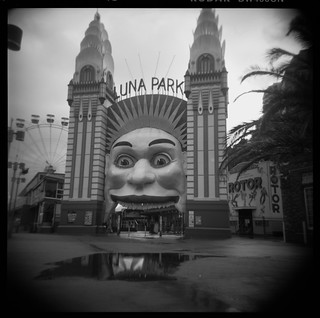 Rainy day Luna Park