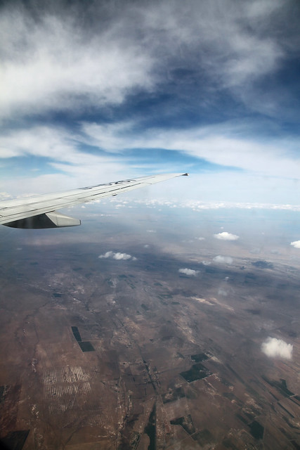 Flight from Beijing to Urumqi 北京からウルムチまでのフライトにて