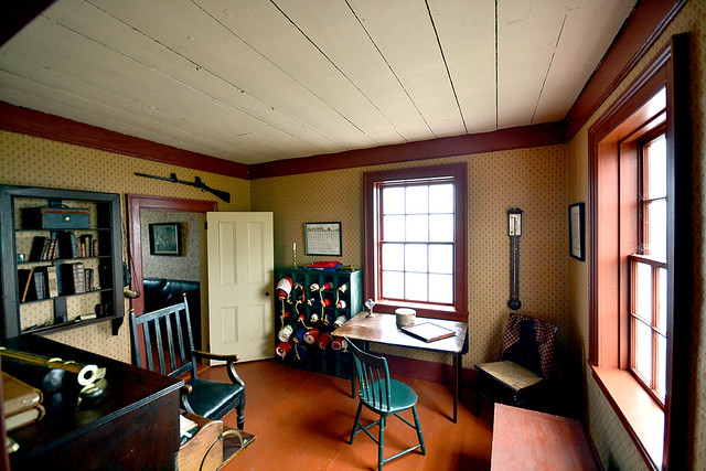 St john 39 s cape spear old lighthouse interior st for Light house interior