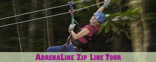 St. Lucia Adrena-Line Canopy Zip Line Tour