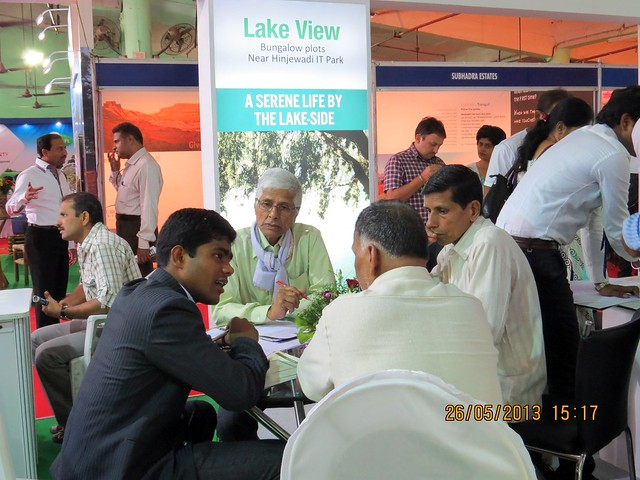 Sairung - K.R.Malik - Visit Sakal Agrowon Green Home Expo, 25th and 26th May, 2013