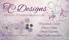 TC Designs Business Card