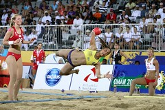 Beach Woman Handball 2012