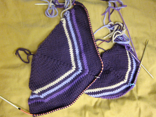 Delancey Cardigan pattern by Alexis Winslow—progress!
