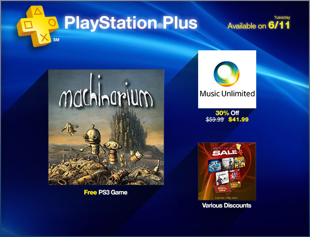 PlayStation Store Update 6-11-2013