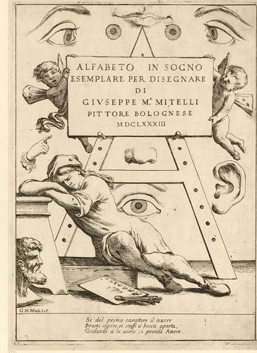 000-Portada Alfabeto in sogno 1683-© Trustees of the British Museum