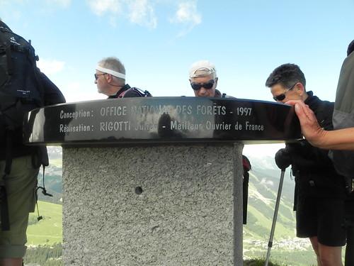 Table d'orientation Dent du Villard 2284m (2)