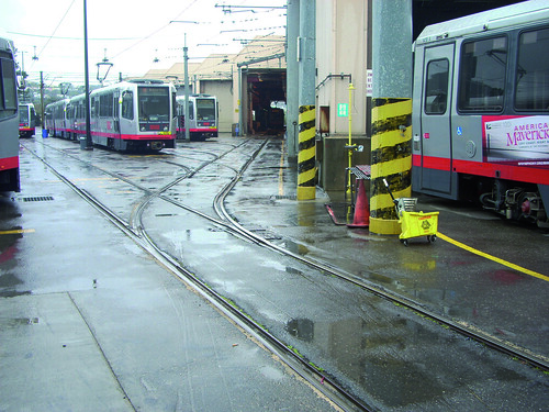 COMSA renews the tram maintenance centre in San Francisco
