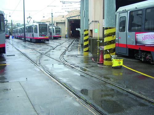 COMSA renueva el centro de mantenimiento del tranvía de San Francisco