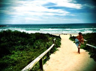 Зображення Freshwater Beach поблизу Freshwater. summer beach