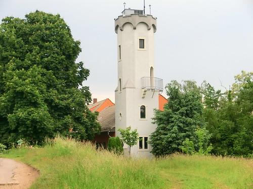 Boselspitze bei Meissen, im Steinbruch am Boselfelsen wurde bis Ende des 19. Jahrhunderts das Granitgestein Biotidgranodirit abgebaut 1400