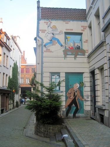 Comic Strip Murals