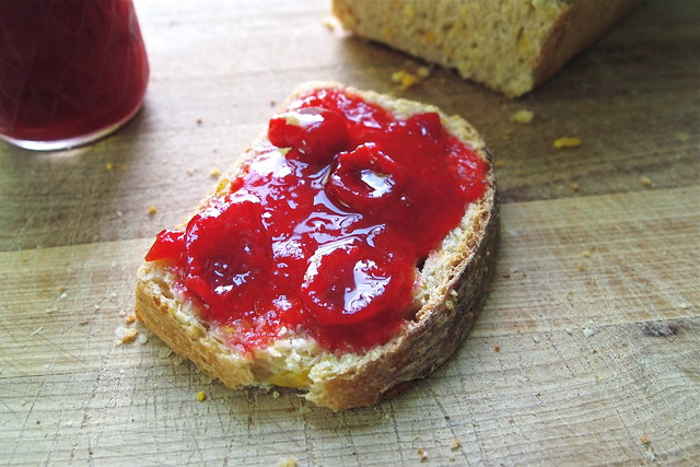 Preserves on toast