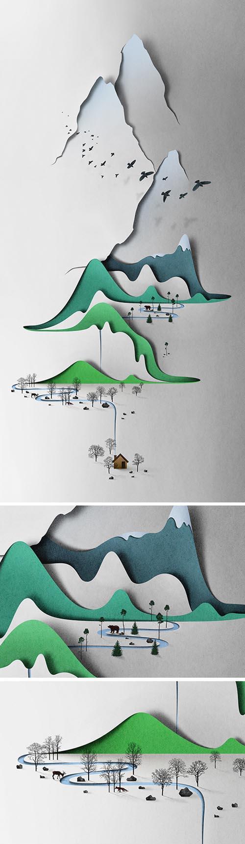 Eiko Ojala - papercut 1