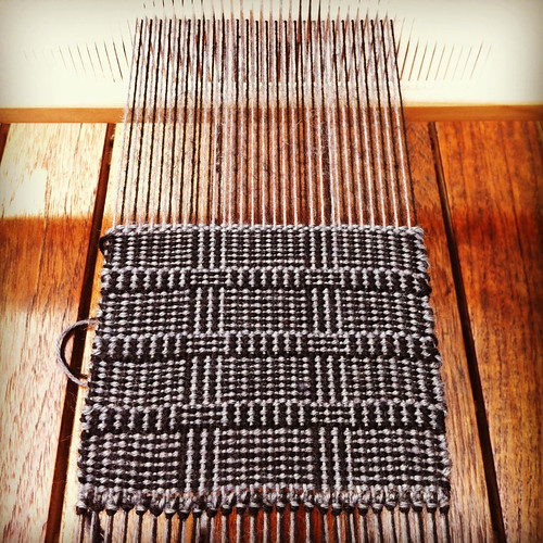 Weaving project 31: Panel 1