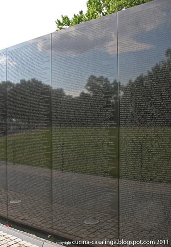 Vietnam Memorial Tafeln