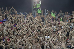 Dinamo-Steaua, 1-2, sosire stadion