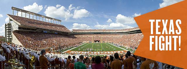 UT Austin Texas Fight DKR Stadium Facebook Cover Photo