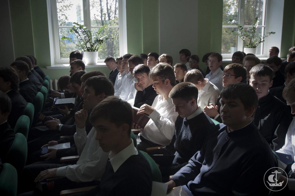 1 сентября 2013, Торжественный акт, посвященный началу учебного года в СПбПДА