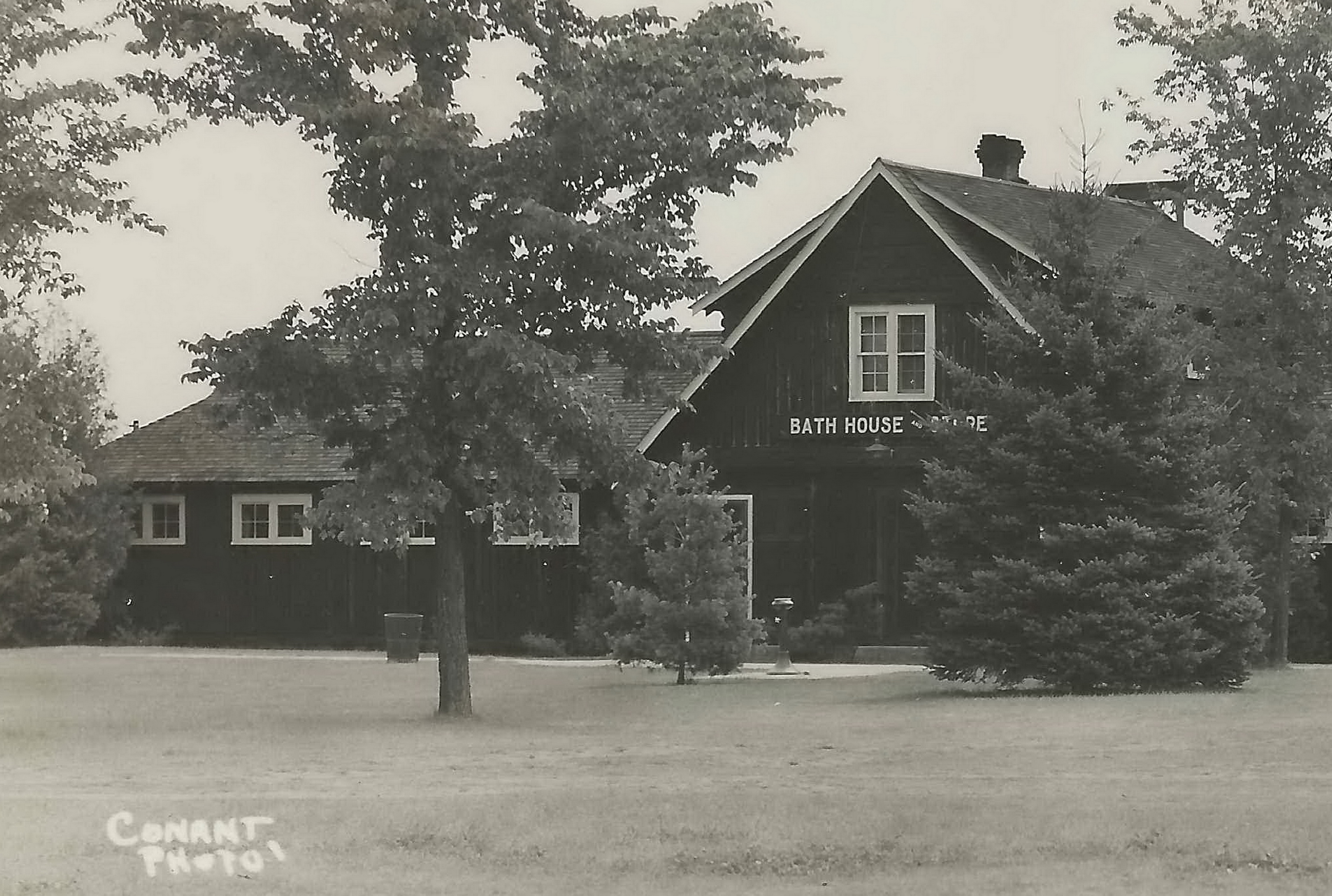 Up wells mi rppc ccc built bath house and other parts of t for Bath house michigan