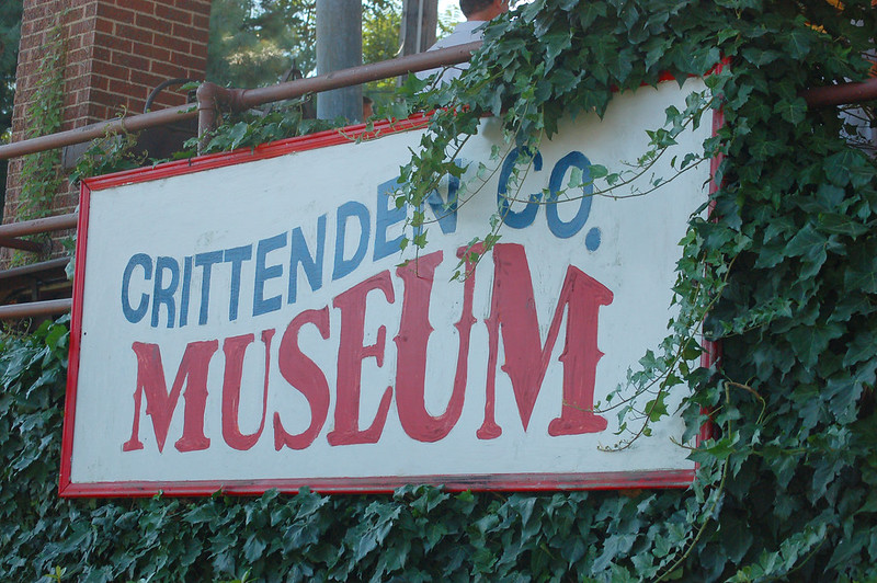 Bike to Cloar, Crittenden County Museum, Earle AR
