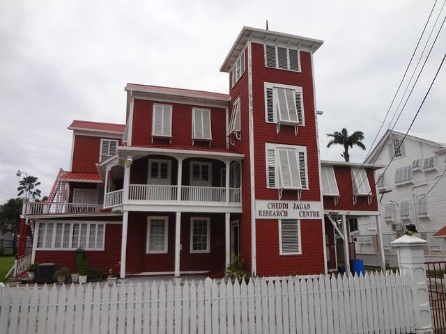 Centro de Pesquisa Cheddi Jagan em Georgetown