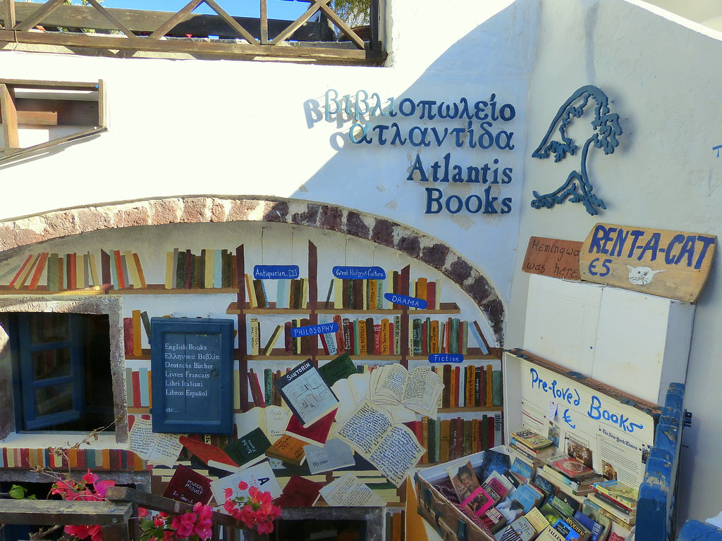 Atlantis Books, Oia
