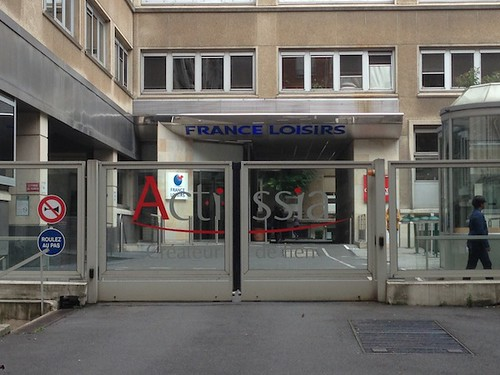 siège Actissia Chapitre France Loisirs